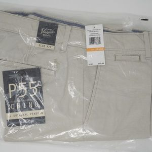 NWT Original Penguin P55 Slim Fit Chino 33x30